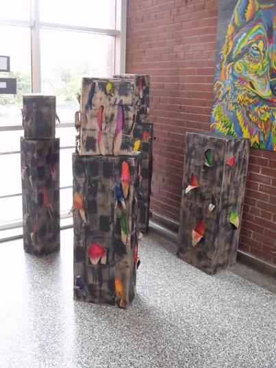 Leneya Valenti, Art Installation
